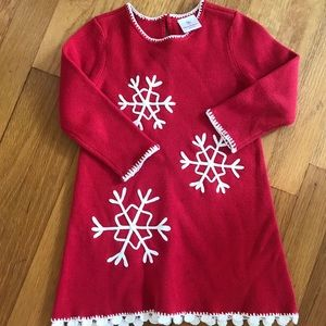 Hanna Andersson holiday dress 80